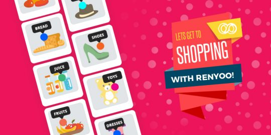Shop better, Shop with ease: Creating shopping lists with Renyoo!