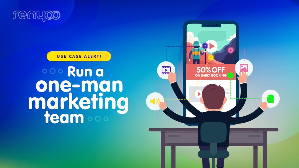 one-man marketing team