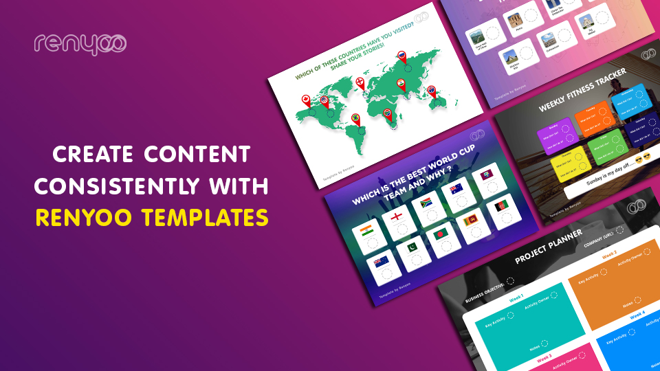 4 amazing Renyoo design templates and how to use them.